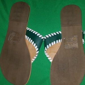 miami Shoes - MIAMI HURRICANES SANDALS